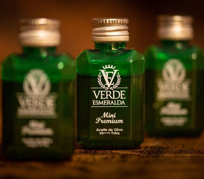 Verde esmeralda aceite monodosis