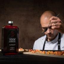 Aceite de oliva virgen extra cocinero